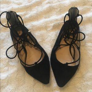 Vince Camuto Suede Lace Up Shoes